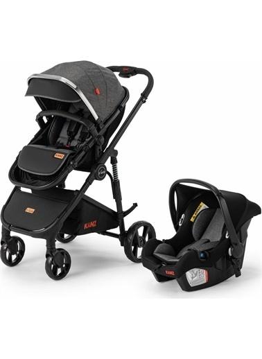 Kanz Sgo Travel Sistem Bebek Arabası S-Go Çift Yönlü Siyah